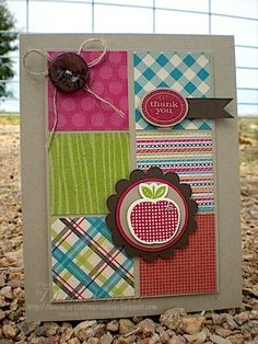 Stampin' Up! Card  by Deb Currier at ARTfelt Impressions