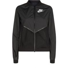 Nike Hypercool Jacket ($125) ❤ liked on Polyvore featuring activewear, activewear jackets, tops, outerwear, nike sportswear, nike and nike activewear
