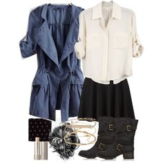 """""""Allison Inspired Outfit with Requested Jacket"""" by veterization on Polyvore"""