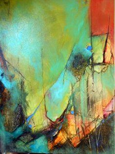 Pintura abstracta moderna