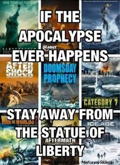 Stay away for the Statue of Liberty