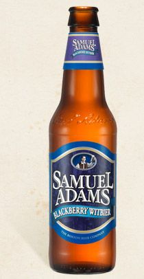 Not generally a fan of Sam Adams, but this is one tasty brew.  Not too sweet or tart.  Samuel Adams® Blackberry Witbier