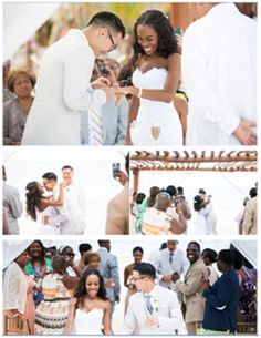 AMBW wedding...Love sees No color and Love has no color boundaries! We are all human just looking for love! They are a beautiful coulpe
