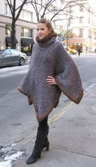 Cashnetta Cape - for when I win the lotto Crochet Shawl, Hand Crochet, Knit Crochet, Knitting Patterns, Crochet Patterns, Knitting Ideas, Caron Yarn, How To Make, How To Wear