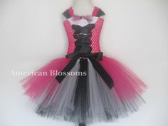 Hey, I found this really awesome Etsy listing at https://www.etsy.com/listing/198961954/ready-to-ship-monster-high-tutu-dress