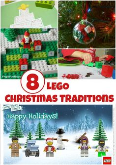 LEGO Christmas traditions - easy LEGO holiday ideas to start this year.