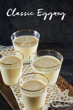 I'm so making this...... Classic Eggnog via @PureWow via @PureWow
