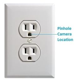 wi fi fake outlet hidden nanny cam camera