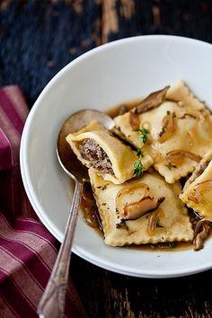 """Gluten Free Ravioli With Shitake Parsley Broth"" by tartelette on flickr.com"