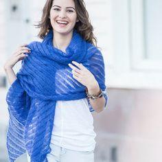 Silkhair Dina sjaal breipakket - Wolplein.nl