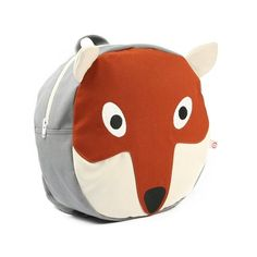 Animal-themed backpacks are always popular with kids and the Morris Fox Backpack is another great design. The circular backpack is made of durable (and Little Boy Fashion, Toddler Fashion, Kids Fashion, Fox Sweater, Toddler Backpack, Morris, Cute Backpacks, Kids Branding, Baby Store