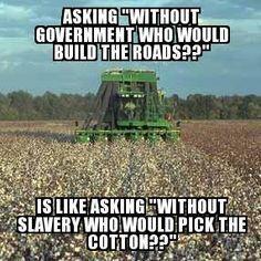 Goverment Slavery