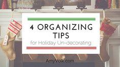 4 Organizing Tips fo