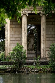 Rom, Villa Borghese, Tempietto di Esculapio (Äskulap-Tempel/Temple of Asklepios) Villa, Find Picture, Picture Video, Le Palais, Ancient Architecture, Rome Italy, Ancient Greece, Aesthetic Pictures, Places To Go