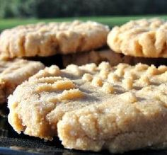 """Flourless Peanut Butter Cookies: """"It's amazing that these cookies can taste so good without flour or milk! We are experimenting with going gluten-free and dairy-free for my daughter's health. She had been feeling a bit deprived until she tasted these cookies. I love them, too!"""" -LifeIsGood"""