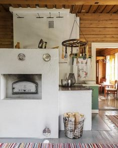 House, Interior, Home, Countryside House, Old House Design, Scandinavian Home, House Inspiration, Log Homes, Interior Design