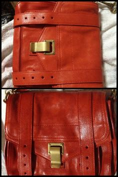 A Proenza Schouler bag treated with Leather Honey! Be sure to read the  comment from f891f05496