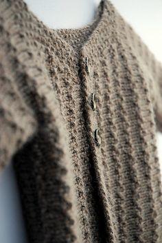 Ravelry: Demne baby cardigan pattern by Annie Cholewa