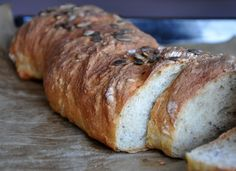 Na háji: Zemiakový chlieb s prímesou špaldovej múky a semienkami