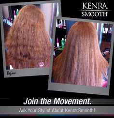 It's August and we all know what that means....back-to-school season. Start the school year off right with smooth, frizz-free hair!  Kenra Smooth® work by Ellen Breedy.