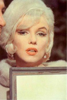 """Marilyn Monroe en el rodaje de """"Something's Got To Give"""", 1962"""