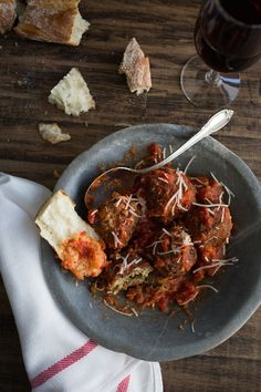 Lentil Ricotta Meatballs | A Give Away - Chez Us