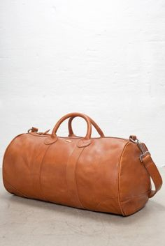 5e2209a199 Our Legacy Duffel Bag Coniac leather