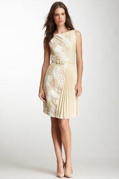 Pretty pleated dress.