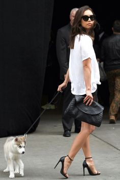 #RumiNeely and Titan on another stroll in NYC.