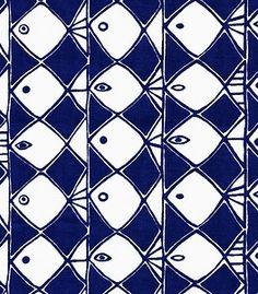 scandinavian fabric vtg retro