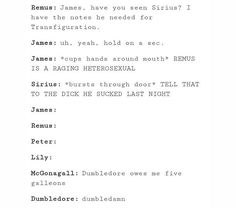I don't ship Remus and Sirius, but this is funny