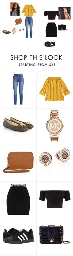 """haii"" by nhynhy2 on Polyvore featuring Michael Kors, adidas and Chanel"