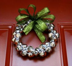 I love Jingle bell wreaths!!!