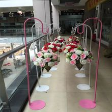 white or pink wedding hook Metal road lead for wedding flower stand Party Props wedding decoration Wedding Table Centerpieces, Wedding Decorations, Table Decorations, Centrepieces, Garden Landscape Design, Small Garden Design, Dubai Miracle Garden, Ancient Chinese Architecture, Magic Garden
