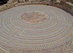 Mosaico en Paphos |
