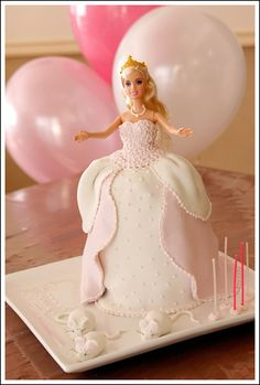 Cinderella Barbie Cake « Birthday Cakes for Kids