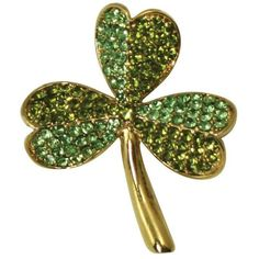 Shamrock Peridot and Olivine Diamante Crystal Gold Tone Flower Brooch ($25) ❤ liked on Polyvore featuring jewelry, brooches, flower broach, diamante jewellery, crystal stone jewelry, flower jewelry and diamante jewelry
