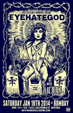 EyeHateGod - Sludge - Metal - live 2014