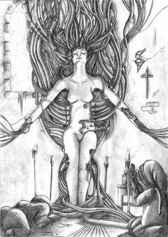 Deus mechanica     Traditional art