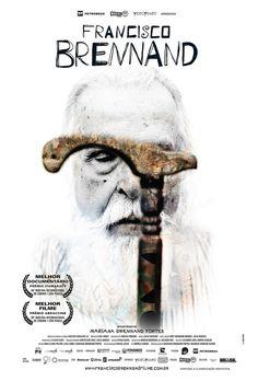 """Cartaz oficial do documentário """"Francisco Brennand"""", de Mariana Fortes"""