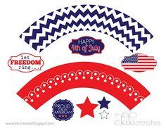 Patriotic Party Printables!!