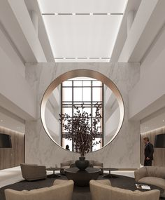 Agatha O I The private clinic Interior Modern, Chinese Interior, Home Interior, Interior Architecture, Hotel Lobby Design, Modern Hotel Lobby, Home Design, Design Blog, Clinic Interior Design