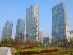 Songdo Central Park View #Incheon