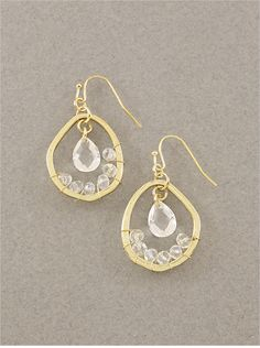 Isabel Crystal Earrings $46
