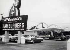 Growing up we used to watch the signs to see the number of hamburgers sold..lol