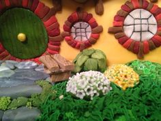 hobbit house cakes - Google Search