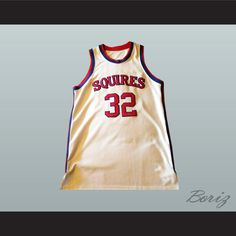 c7a056c15cf4dc Julius Erving Dr.J Virginia Squires Basketball Jersey 32 Stitch Sewn NEW.  SHIPPING TIME