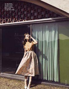 Marcin Tyszka | Elle France April 2012 | FlowerChic