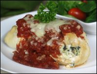 Hungry Girl - Thursday Newsletter  Three Cheese Chicken Cannelloni