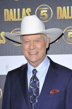 Larry Hagman, Passes Away At Age 81 After Battle With Cancer x Larry Hagman, Passed Away, Battle, Cancer, Age
